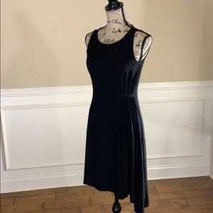 ✨Like New✨Express Slvls Ruched Asymmetrical Dress